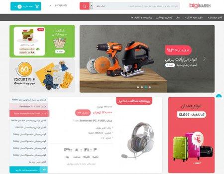 طراحی سایت فروشگاهی مشابه دیجی کالا در رشت