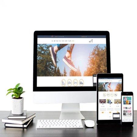 طراحی وب سایت کیف و کفش در رشت