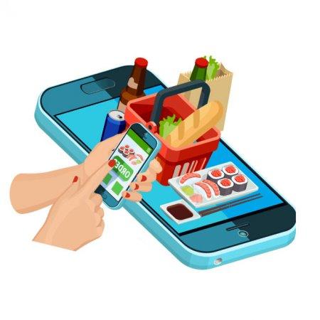 طراحی سایت سوپر مارکت به همراه اپلیکیشن در رشت