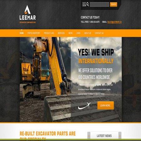 طراحی سایت صنعتی حرفه ای در گیلان