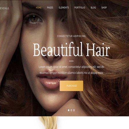 طراحی سایت سالن خدمات زیبایی