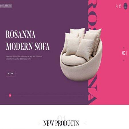 طراحی وب سایت مبلمان در گیلان