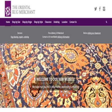 طراحی سایت رشت فرش
