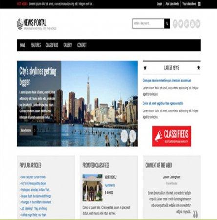 طراحی سایت گیلان،سایت خبرگزاری حرفه ای