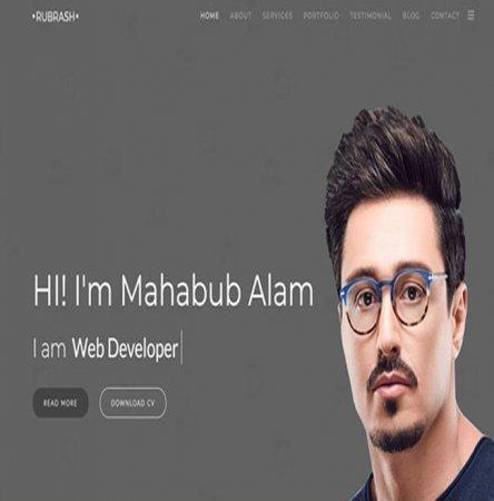 طراحی سایت رشت،سایت شخصی