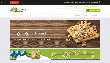 فروشگاه اینترنتی پسته قزوین ، پسته اکبری